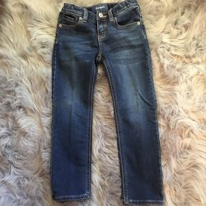 👖5 reg. Girls blue jeans - Old Navy